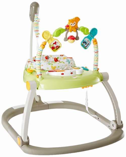 Fisher-Price 费雪 Woodland 折叠跳跳椅 64.97加元,原价 80加元,包邮