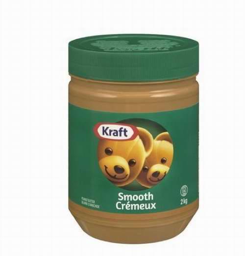 Kraft 卡夫 天然花生醬 4.92加元(2KG ),原價 9.99加元