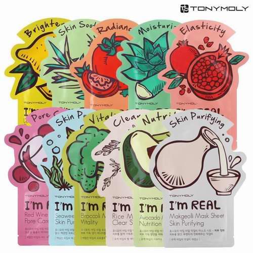 Tonymoly Im Real 水果蔬菜面膜 28.3加元(11张)