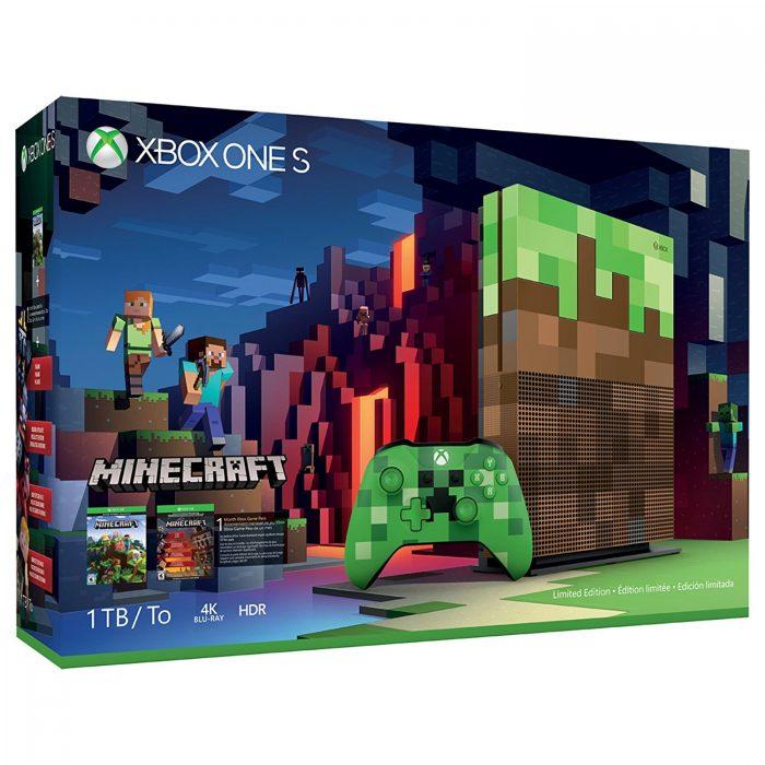 历史最低价!Microsoft Xbox One S 1TB LE 限量版同捆 349.99加元,原价 499.99加元,包邮