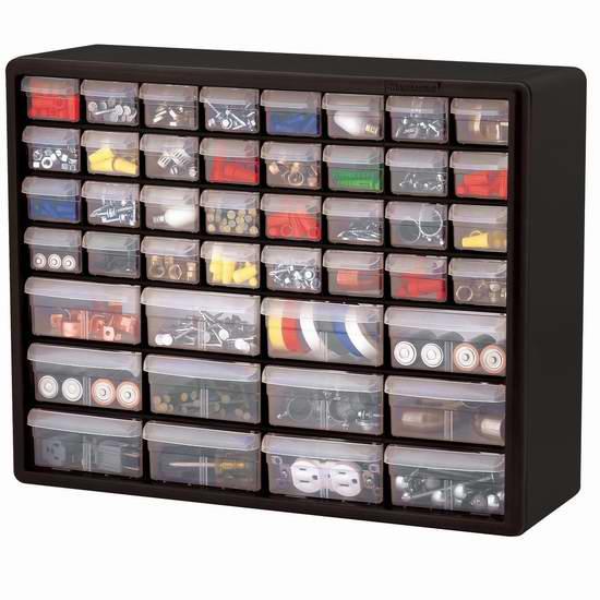 近史低价!Akro-Mils 10144 44 D 44抽屉 分类收纳盒6.8折 36.79加元包邮!