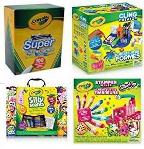 金盒头条:精选25款 Crayola 绘儿乐 马克笔、可水洗马克笔、神奇画布、水彩、彩色铅笔等3.2折起!售价低至2.52加元!