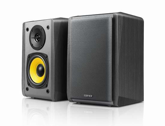 Edifier 漫步者 R1010BT 全木质蓝牙音箱2件套 67.67加元限量特卖并包邮!