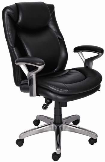 历史新低!Serta at Home Air 人体工学 中靠背 复合皮革办公椅3折 128.18加元清仓并包邮!