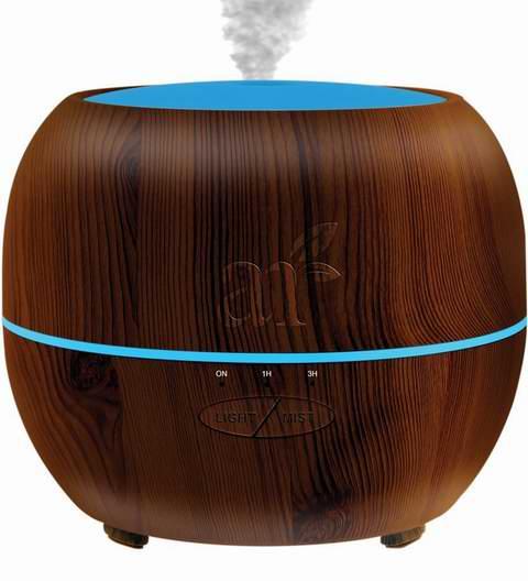 历史新低!ArtNaturals 150毫升 木纹/玫瑰金 超声波香薰加湿器 15.95加元清仓!