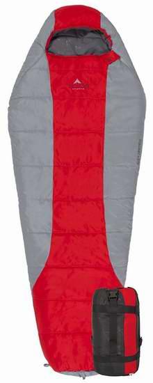 历史新低!TETON Sports Tracker 零下15度超轻全拉链睡袋4.1折 57.52加元包邮!