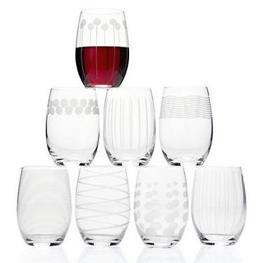 MIKASA 优质水晶玻璃酒杯8件套1.8折 25.49加元清仓!