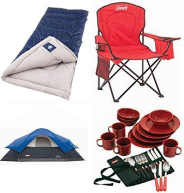 Save up to 30% on camping with Coleman