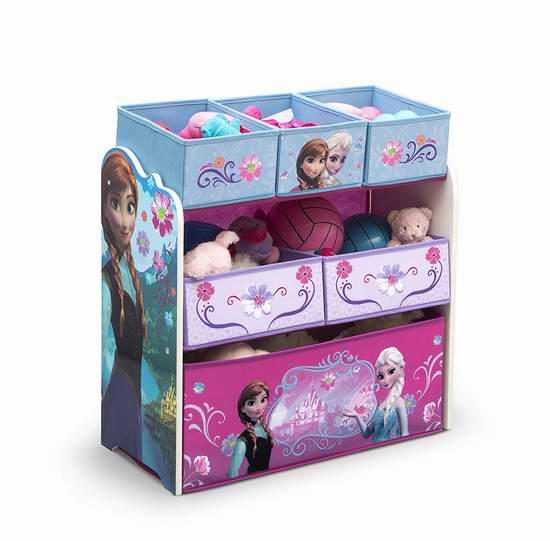 历史新低!Disney Delta 冰雪奇缘 玩具收纳架5.6折 27.97加元!