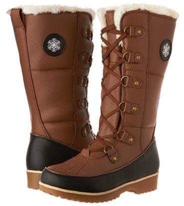 金盒头条:历史新低!Comfy Moda Colorado 女式时尚防水保暖长靴3.4折 62加元包邮!2色可选!