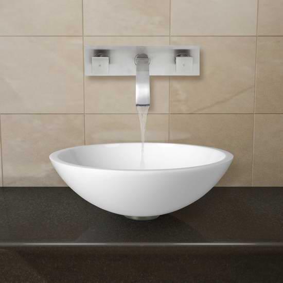 白菜價!歷史新低!Vigo VGT228 鳳凰石洗手盤+水龍頭套裝1.6折 80.7加元包郵!