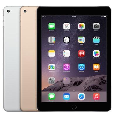 A级翻新!Apple iPad Air 2 16GB 9.7英寸平板电脑 359.99加元包邮!3色可选!
