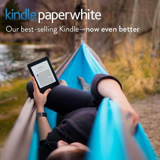 今日闪购:Kindle 6寸 Paperwhite 高分辨率带背光电子书阅读器 119.99加元包邮!