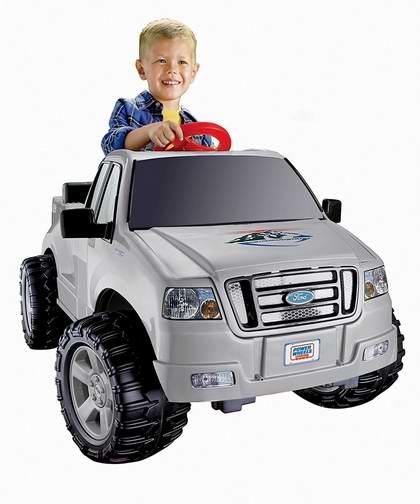 历史新低!MATTEL C3493 Ford Lil' F-150 儿童电动皮卡车6.8折 184.16加元包邮!