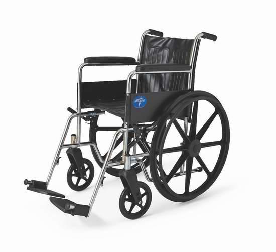 历史新低!Medline Excel 2000 轮椅3.6折 88.82加元包邮!