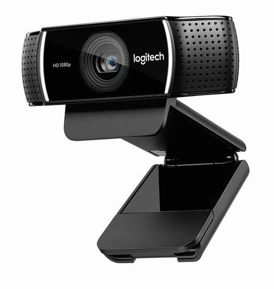 历史新低!Logitech 罗技 C922x Pro 1080P 专业高清网络摄像头6.1折 79.16加元包邮!