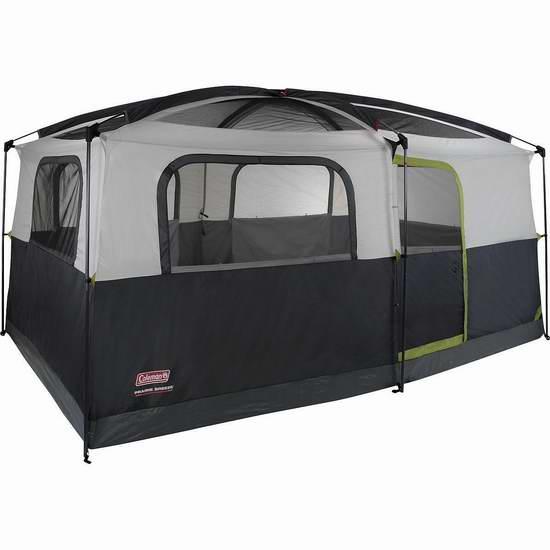 历史新低!Coleman Prairie Breeze 9人家庭野营超大帐篷4.2折 216.83加元包邮!