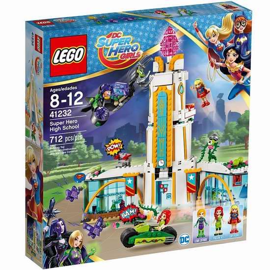历史新低!LEGO 乐高 41232 超级女英雄 英雄学院(712pcs)6.1折 67.25-74.72加元包邮!