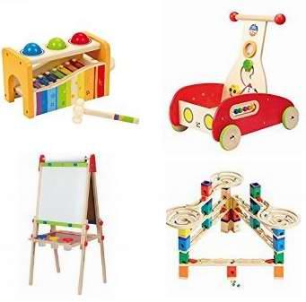 金盒頭條:精選27款德國 Hape 天然環保無毒 精美木質益智玩具4.2折起限時特賣!