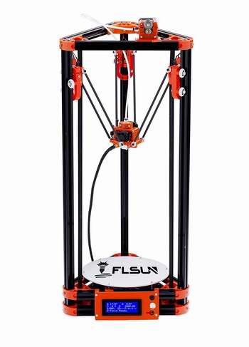 FLSUN Kossel 3D打印机超值套件 279加元限量特卖并包邮!