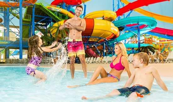 大瀑布 Fallsview 室内水上乐园单人/双人门票4.7折起!