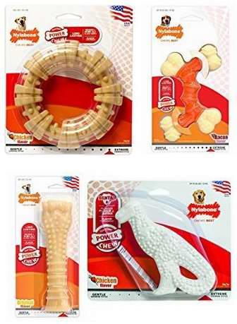 金盒头条:精选6款 Nylabone 狗嚼食品\玩具\弹性磨牙骨4.4折起!