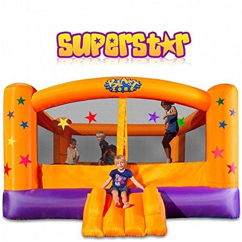 历史新低!Blast Zone Superstar 大型充气儿童蹦床5折 344.65加元包邮!
