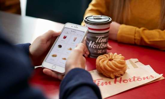 Tim Hortons 价值10加元 手机App电子充值卡仅售5加元!