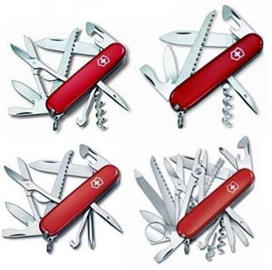 精选5款 Victorinox 多功能刀具6折起特卖!售价低至20.99加元!