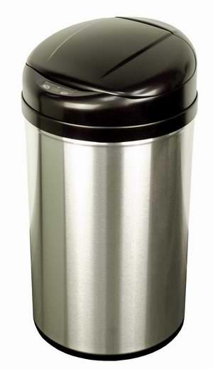 历史新低!NINESTARS DZT-40-8 40升 红外感应式 不锈钢垃圾桶2.8折 52.03加元包邮!