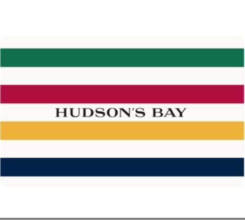 Hudson's Bay 电子礼品卡立省8加元,仅售42加元!