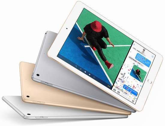 Apple iPad Wi-fi 32GB 9.7寸平板电脑 368加元包邮!3色可选!