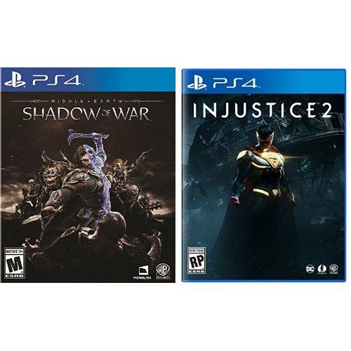 金盒头条:《Middle-Earth: Shadow of War 中土世界:战争之影 + Injustice 2 不义联盟:人间之神2》PS4、Xbox One版6.2折 89.99加元包邮!