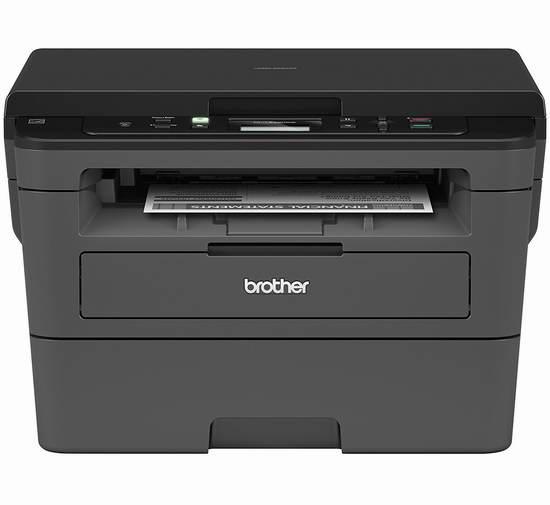 近史低价!Brother HLL2390DW 无线多功能黑白激光一体打印机5.4折 119.99加元包邮!