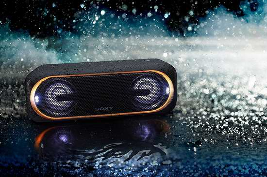 历史最低价!Sony 索尼 SRSXB40 超重低音 便携式蓝牙无线音箱6.2折 198-199.99加元包邮!3色可选!