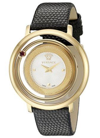 白菜价!历史新低!Versace 范思哲 VQV010015 Venus 女士镀金时尚腕表/手表3.6折 387.99加元包邮!