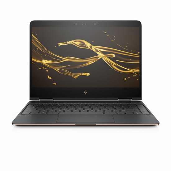历史新低!HP 惠普 Spectre x360 13.3英寸 超轻薄 可翻转 触摸屏笔记本电脑(i7-7500U/8GB/512GB SSD) 1579.99加元包邮!
