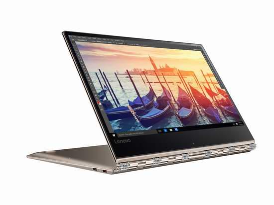 Lenovo 联想 Yoga 910 13.9寸触摸屏变形笔记本电脑(8GB/512GB SSD)6.1折 1264.99加元包邮!