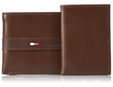 圣诞专享:Tommy Hilfiger Ranger 男士真皮钱包5.5折 20.99加元!11色可选!