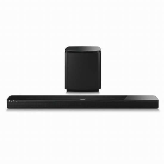 购买Bose SoundTouch 300 家庭影院Soundbar扬声器 + Bose Acoustimass 300 无线低音箱,送现价224加元Bose SoundTouch 10无线音响!