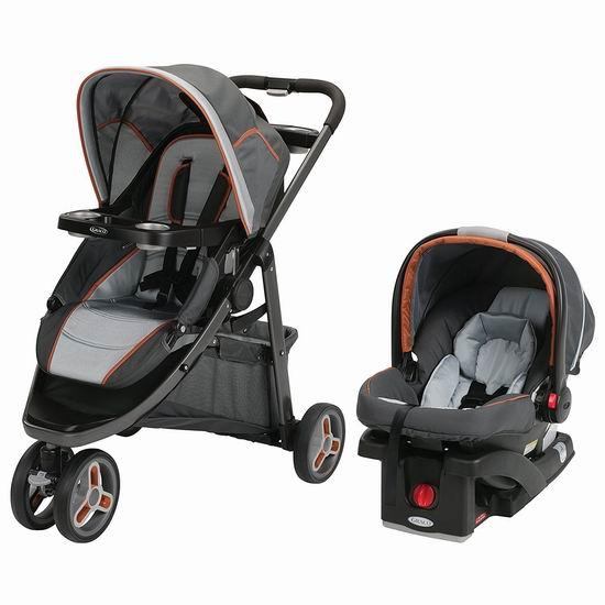 历史最低价!Graco Modes Sport 童车汽车座椅套装5.5折 399.99加元包邮!两色可选!