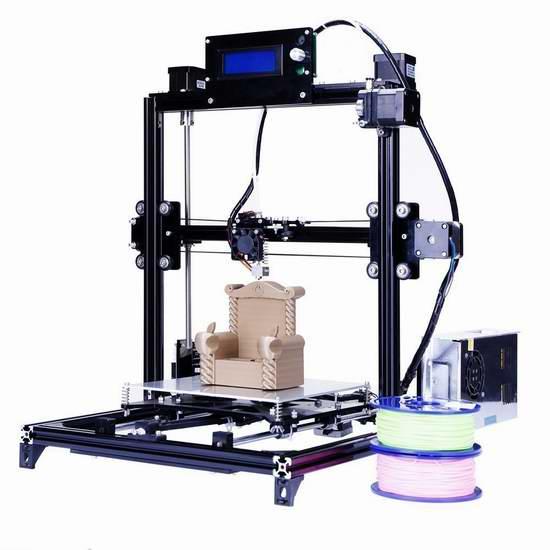 FLSUN Prusa i3 RepRap 3D打印机DIY套件 279加元限量特卖并包邮!