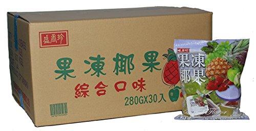 历史新低!SHJ OS03464 台湾盛香珍 椰果味果冻(8.4公斤) 36.48加元包邮!