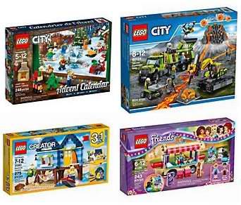 精选44款 Lego 乐高积木玩具套装全场6折清仓!