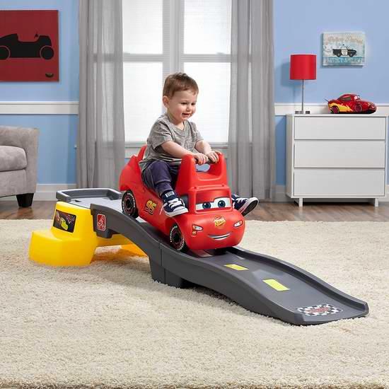 历史新低!Step2 Disney 赛车总动员3 儿童滑道车+轨道4.1折 62加元包邮!会员专享!