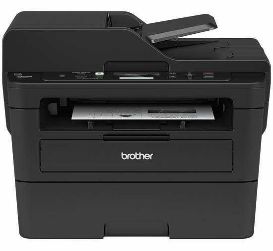 近史低价!Brother 兄弟 DCPL2550DW 无线多功能一体 黑白激光打印机5.4折 129.99加元包邮!