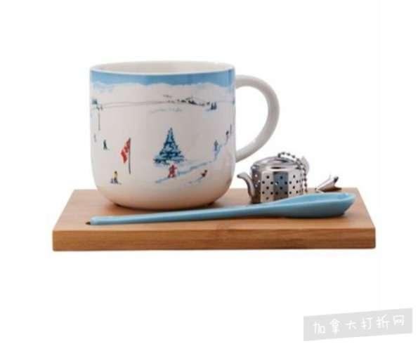 Indigo 精选大量小清新茶具用品 5加元起特卖+包邮!
