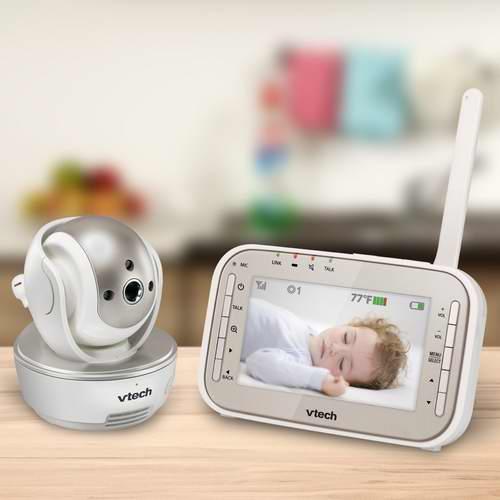 历史最低价!VTech VM343 带夜视功能婴儿监视器 119.97加元,原价 199.99加元,包邮