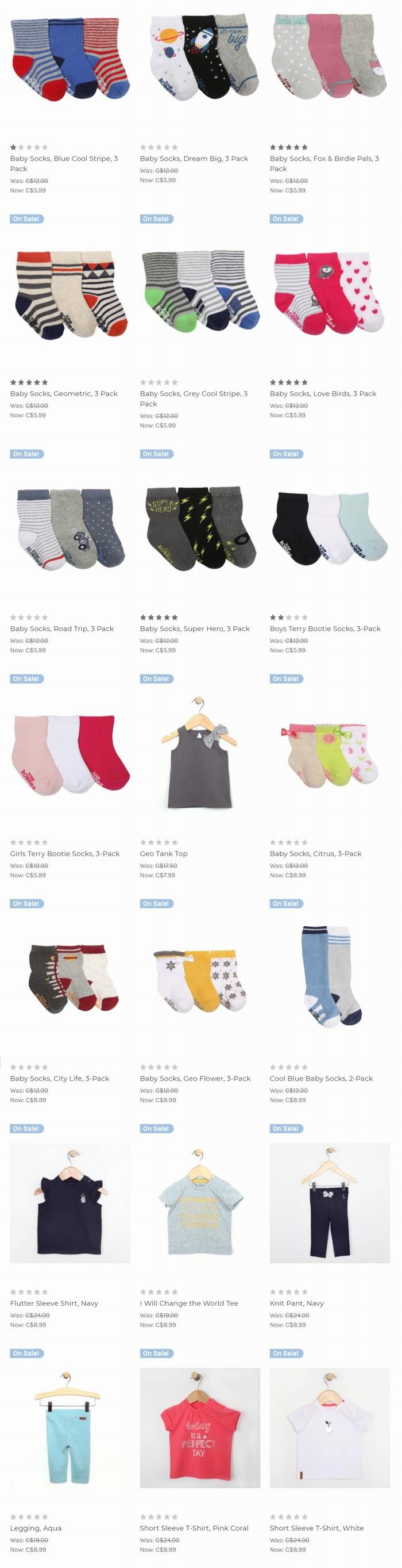 Robeez 婴儿学步鞋、袜子、服饰 5折起特卖!