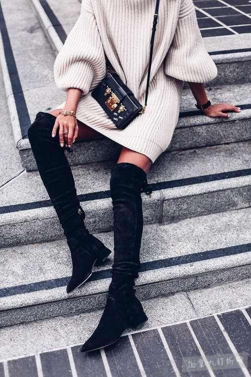 精选 41款 STEVE MADDEN、KARL LAGERFELD PARIS等品牌过膝靴 29.99加元起特卖!